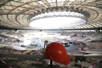 Стадион «Лужники» готовится к реконструкции