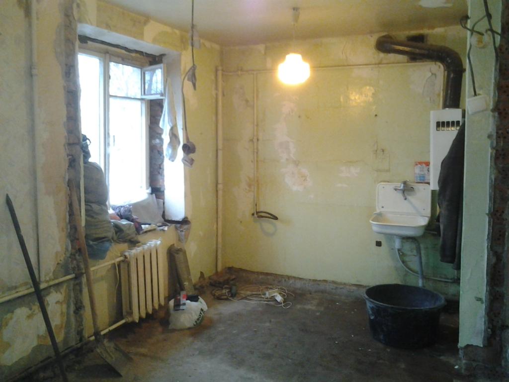 Ремонт старой панельной квартиры